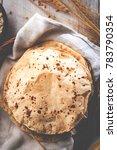 indian bread   chapati   fulka  ... | Shutterstock . vector #783790354