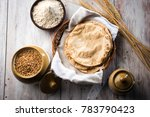indian chapati   fulka or gehu... | Shutterstock . vector #783790423