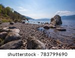shores of loch ness in the... | Shutterstock . vector #783799690