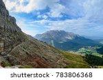 catinaccio mountain massif...   Shutterstock . vector #783806368