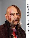 severe warrior russian cossack  ... | Shutterstock . vector #783806656