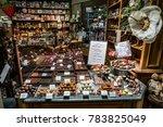 bruges  belgium   august 12 ... | Shutterstock . vector #783825049