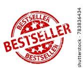 rubber stamp seal   bestseller | Shutterstock .eps vector #783836434