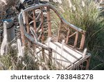 Vintage Armchair In Field Of...