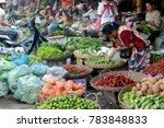 The Market In The Old City Of...