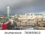 Manchester City Centre Aerial...