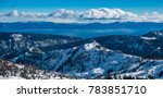 Panoramic View Of The Sierra...