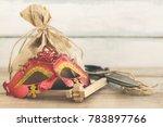purim jewish holiday... | Shutterstock . vector #783897766