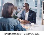 listen attentively. skillful... | Shutterstock . vector #783900133