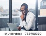 deadline today. pensive elegant ... | Shutterstock . vector #783900310