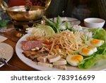 thailand food  thailand platter ... | Shutterstock . vector #783916699