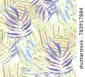 watercolor seamless pattern... | Shutterstock . vector #783917884