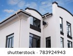 newly installed construction... | Shutterstock . vector #783924943