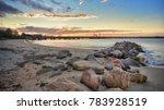 cronulla beach  sydney ... | Shutterstock . vector #783928519