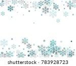 Winter Card Border Of Snow...