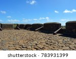 cannon in the real fortress of... | Shutterstock . vector #783931399