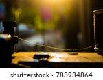 filament line cord | Shutterstock . vector #783934864