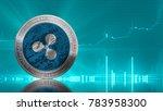 ripple coin  xrp ... | Shutterstock . vector #783958300