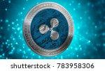 ripple coin  xrp ... | Shutterstock . vector #783958306