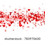 love valentine's background... | Shutterstock .eps vector #783970630
