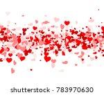love valentine's background... | Shutterstock .eps vector #783970630