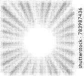 black and white optical... | Shutterstock .eps vector #783987436