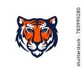 tiger logo design | Shutterstock .eps vector #783990280