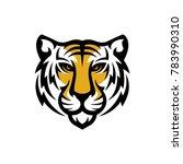 tiger logo design | Shutterstock .eps vector #783990310