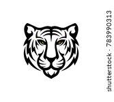 tiger logo design | Shutterstock .eps vector #783990313