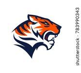 tiger logo design | Shutterstock .eps vector #783990343