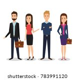 business people group avatars... | Shutterstock .eps vector #783991120