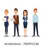 business people group avatars...   Shutterstock .eps vector #783991138