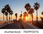 california oceanside pier over... | Shutterstock . vector #783993376