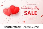promo web banner for valentine...