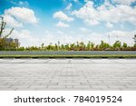 the lake in the park | Shutterstock . vector #784019524