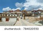 shangri la songzanlin temple... | Shutterstock . vector #784020550