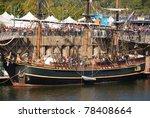 festival du bateau classique de ... | Shutterstock . vector #78408664
