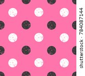 pink seamless pattern with... | Shutterstock .eps vector #784087144
