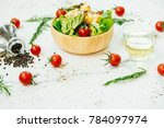 clean and healthy food style... | Shutterstock . vector #784097974