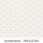 geometric grid with intricate... | Shutterstock .eps vector #784112764