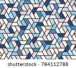geometric grid with intricate... | Shutterstock .eps vector #784112788