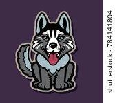 animal  arctic  art  background ... | Shutterstock .eps vector #784141804