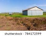 farm airstrip aircraft plane... | Shutterstock . vector #784172599