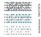 vector horizontal hashgraph...   Shutterstock .eps vector #784175476