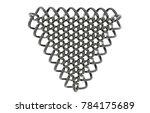 wire mesh 3d rendering | Shutterstock . vector #784175689