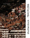 favela or you can call slum ...   Shutterstock . vector #784191286