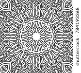 coloring page for adults. a... | Shutterstock .eps vector #784193368