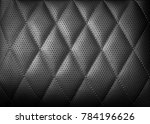 perforated leather texture... | Shutterstock . vector #784196626