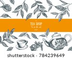 tea vector illustration. vector ... | Shutterstock .eps vector #784239649