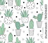 vector seamless pattern of...   Shutterstock .eps vector #784246603